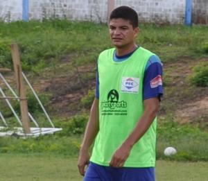 Thiago Campelo pode desfalcar Piauí nas semifinais (Foto: Renan Morais/GLOBOESPORTE.COM)