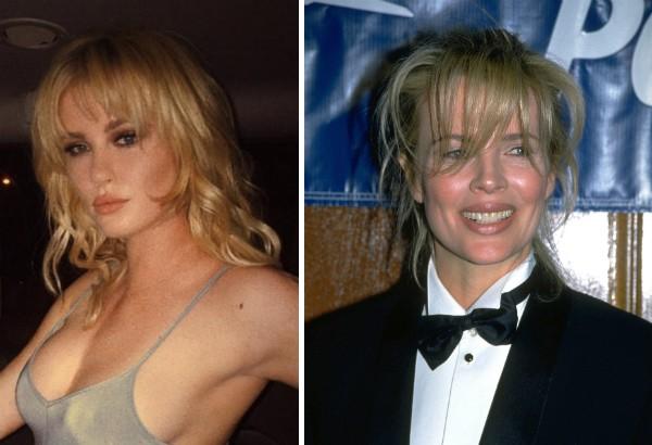 A modelo Ireland Baldwin em foto na qual foi comparada com a mãe, Kim Basinger (Foto: Instagram/Getty Images)