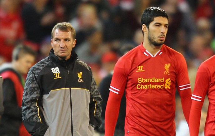 Brendan Rodgers suarez liverpool (Foto: Getty Images)