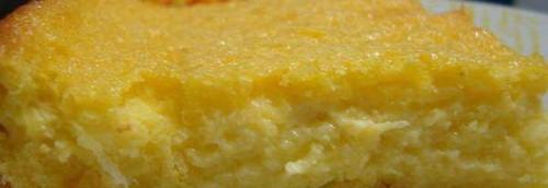 Bolo de milho cremoso