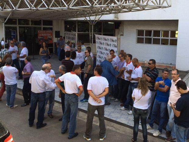 Servidores anunciam greve por tempo indeterminado em Sergipe (Foto: Tássio Andrade/G1)