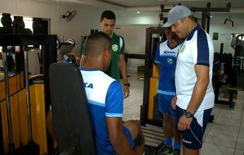Elenco do Altos faz treino físico, mas pergunta é uma: Manoel joga a final?