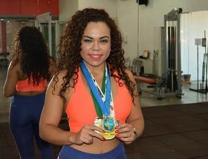Daianny Norberto conquistou quatro medalhas na curta carreira de atleta amadora (Foto: Jheniffer Núbia)