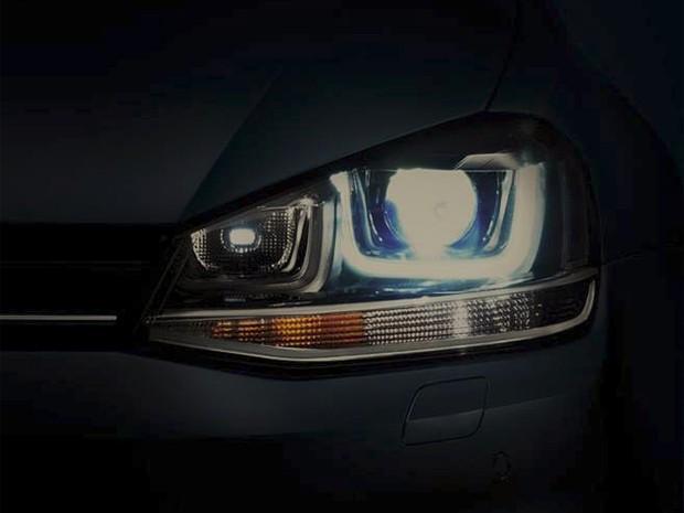 Imagem de novo carro mostrada pela Volkswagen em seu Facebook (Foto: Reprodução/Facebook)