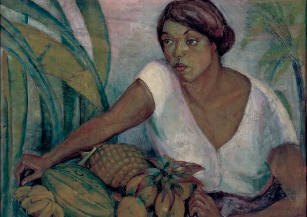 A obra Tropical de 1917 (Foto: Romulo E Valentino Fialdini, Isabella Matheus/divulgação, Thinkstock E Reprodução)