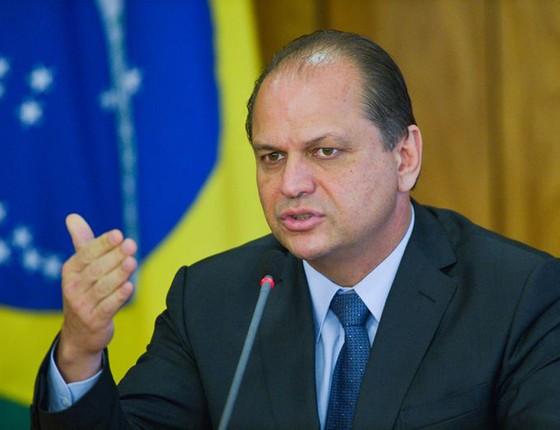 Ricardo Barros novo ministro da sáude duarante  coletiva (Foto: José Cruz/ABR)