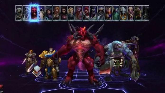 Personagens famosos estão em Heroes of The Storm (Foto: Divulgação)