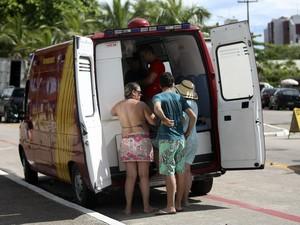 Atendimento médico deve ser ampliado durante temporada (Foto: Jonas Oliveira/AEN/Divulgação)