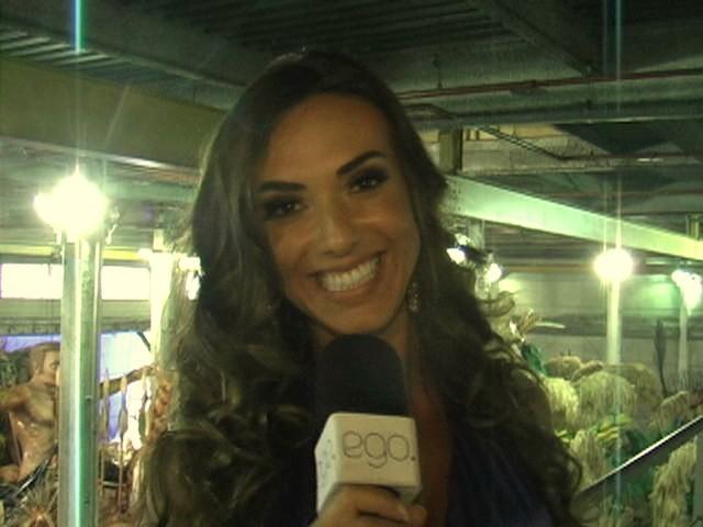 Nicole Bahls em entrevista ao EGO (Foto: EGO)