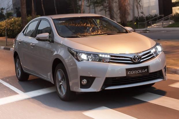 Toyota Corolla (Foto: Divulgação)