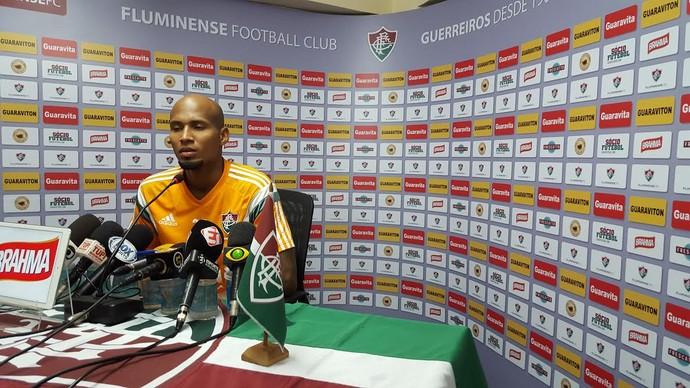 Wellington Silva, Fluminense (Foto: Hector Werlang)