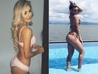 Tatiele Polyana conta o segredo do bumbum na nuca: 'Ganhei 10 quilos'