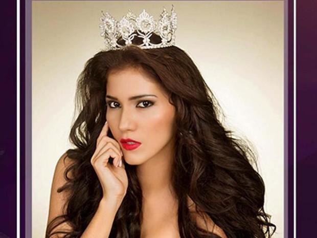 A modelo Yumara López, ex-miss Nicarágua, morre aos 22 anos em decorrência de um câncer no cérebro (Foto: Reprodução/ Instagram/ Miss Mundo Nicarágua)