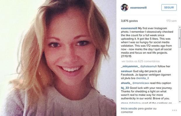 Essena O'Neill (Foto: Reprodução/Instagram)