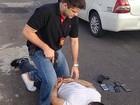 Homem tenta assaltar delegado em Manaus e é preso: 'Não deu sorte'