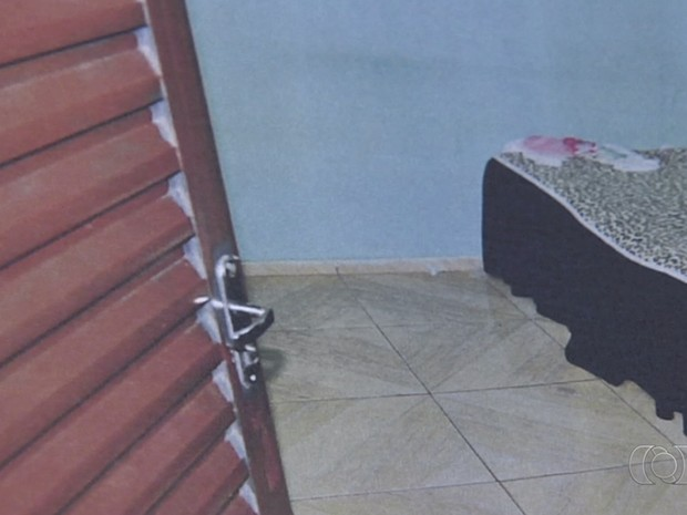 Bebê morreu após ser agredidade pelo padrasto, em Goiânia, Goiás (Foto: Reprodução/TV Anhanguera)
