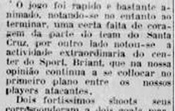100 anos das multidões: 1º clássico foi um jogo-treino sem muita repercussão