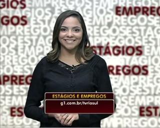 Veja as oportunidades de estágios e empregos no Sul do Estado (Foto: Reprodução/ RJTV 1ª Edição)