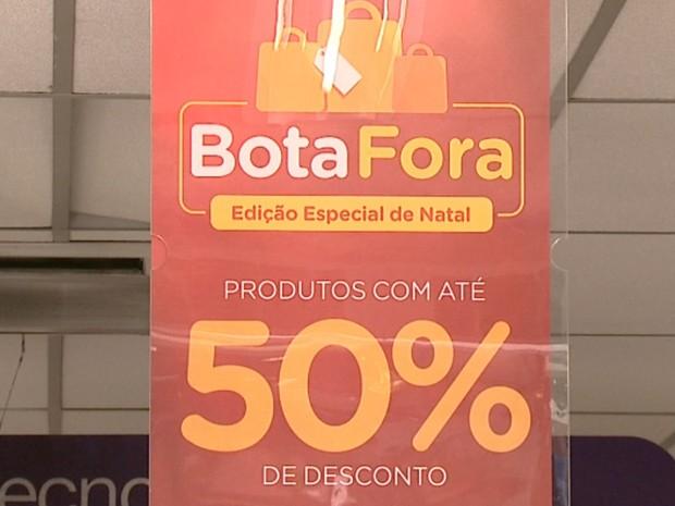 Promoções agitam final de ano em comércios da região (Foto: Reprodução EPTV)