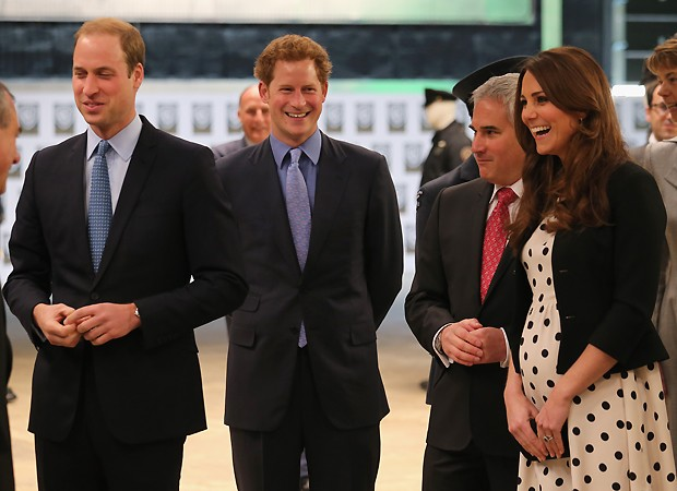 William, Harry e Kate (Foto: Getty Images)