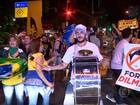 Manifestantes contra e a favor do impeachment vão às ruas no país