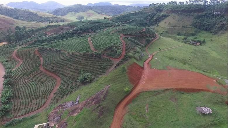 bauxita-extração (Foto: Reprodução/TV Globo)