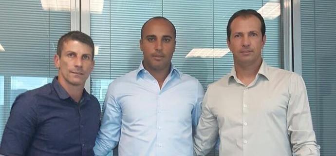 Pedrinho, Deivid e Alexandre Lopes, do Cruzeiro (Foto: Reprodução / Facebook)