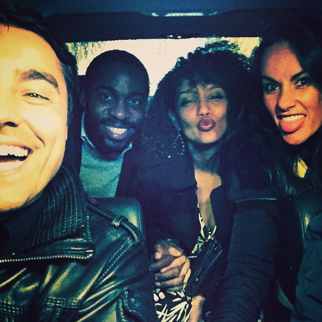 Ricardo, Lázaro, Taís e Francisca (Foto: Reprodução/Instagram)