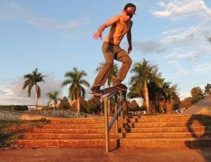 Ituiutaba skate street competição Family Skate  (Foto: Carlos Oliveira/ Arquivo Pessoal)