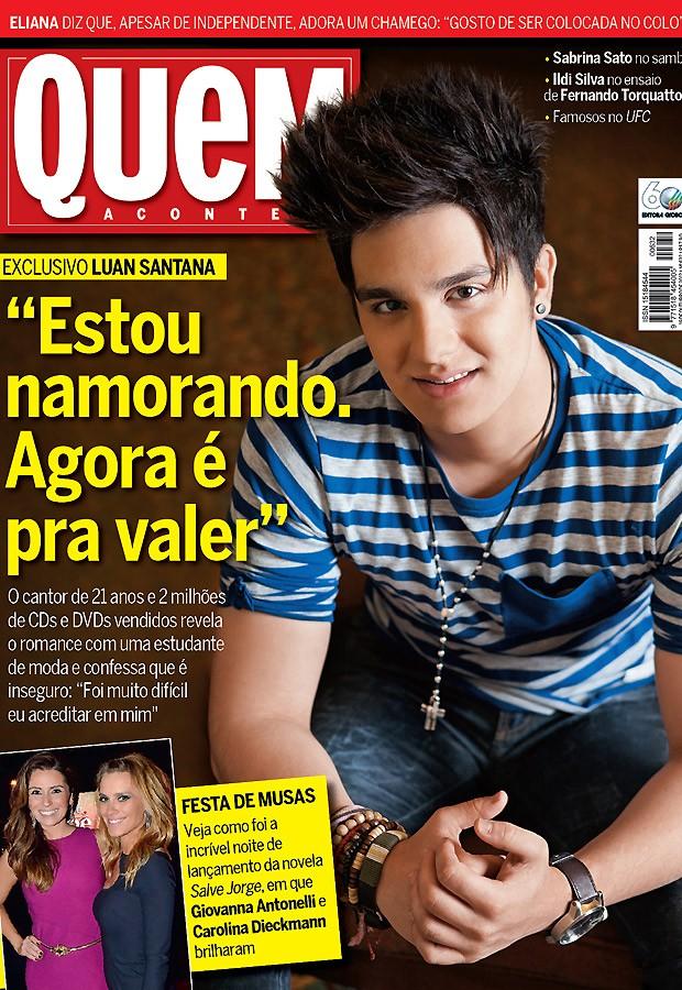 Luan Santana (Foto: Lufe Gomes)