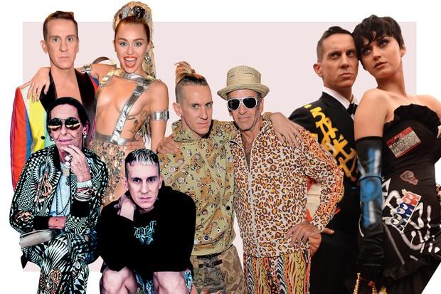 Turma POP  Jeremy com Miley Cyrus, Carlyne Cerf de Dudzeele, Kenny Scharf e 7304de5095