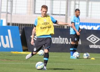 Moisés Grêmio (Foto: Eduardo Moura/GloboEsporte.com)