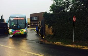 Após eliminação na Copa, Equador deixa o RS e volta para casa