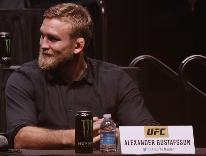 Alexander Gustafsson, UFC (Foto: Evelyn Rodrigues)