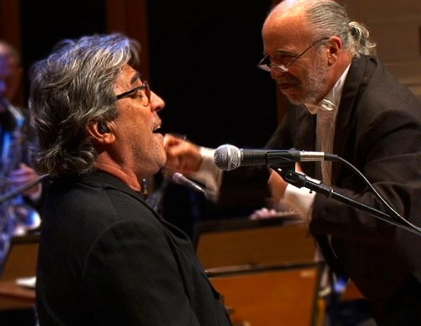 Maestro Amilson Godoy com Ivan Lins (Foto: Divulgação)