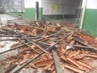 Por causa da chuva, telhado de escola desaba e atinge cinco alunos na Bahia