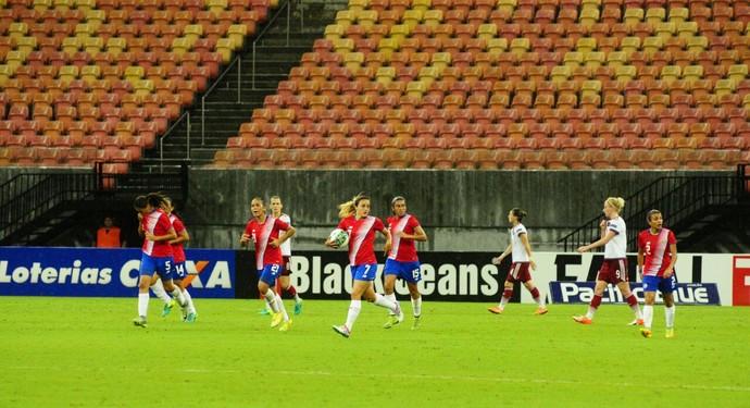 Rússia x Costa Rica Arena da Amazônia (Foto: Marcos Dantas)