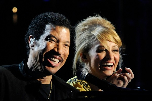 Lionel Richie e Nicole Richie (Foto: Getty Images)