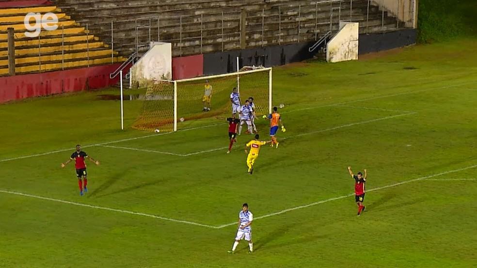 Parnahyba foi derrotado pelo Globo-RN na última rodada, mas avançou para a segunda fase (Foto: Inter TV)