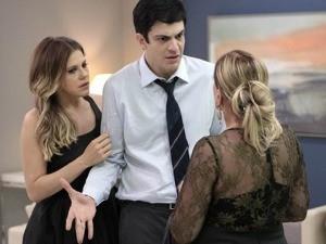 Cena de Amor à Vida, com Mateus Solano, Bárbara Paz e Susana Vieira (Foto: Divulgação/RBS TV)