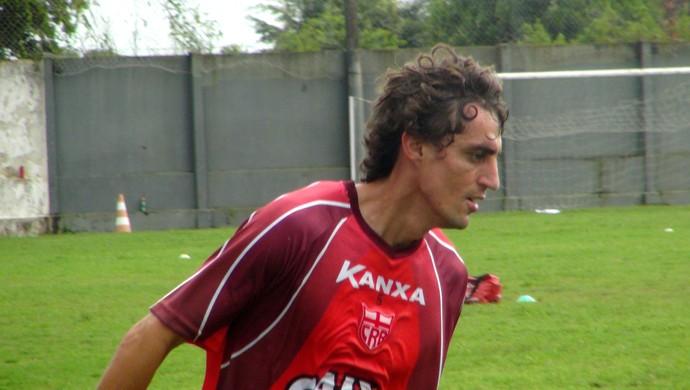 Clebinho CRB (Foto: Viviane Leão/GloboEsporte.com)