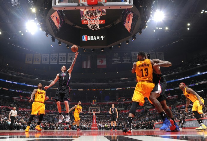 Los Angeles Clippers venceu o Cleveland Cavaliers (Foto: Getty Images)