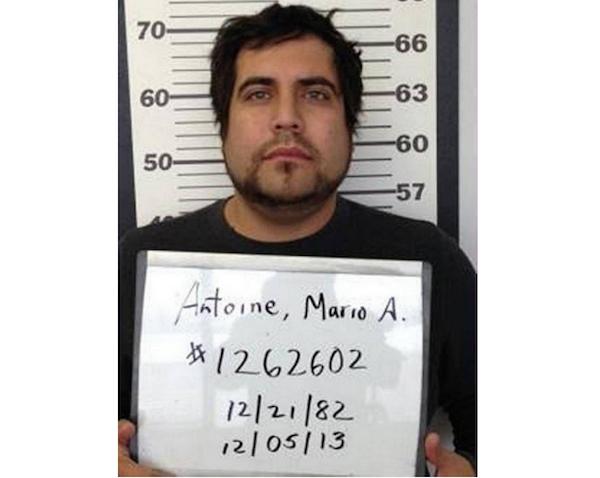 O criminoso Mario Ambrose Antoine (Foto: Reprodução)