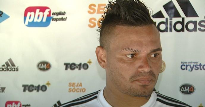 Fábio Ferreira, zagueiro Ponte Preta (Foto: Reprodução EPTV)