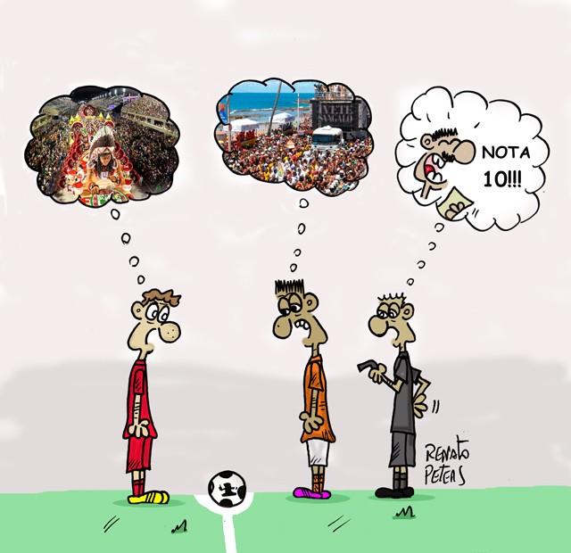 BLOG: Futebol no carnaval...