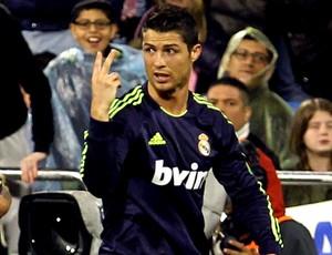 Cristiano Ronaldo jogo Real Madrid Zaragoza (Foto: EFE)