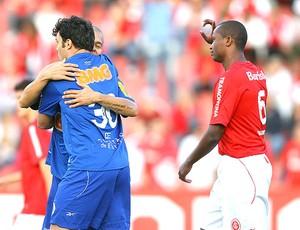 Kleber marcou duas vezes pelo Cruzeiro (Foto: Jefferson Bernardes/Vipcomm)