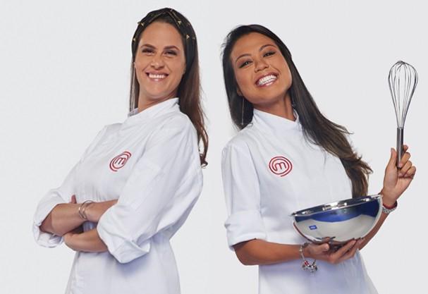 Aritana e Sabrina - Masterchef 2015 (Foto: Divulgação)