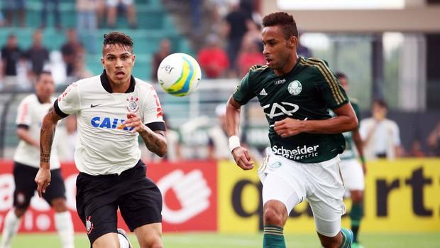 guerrero, Corinthians x Palmeiras (Foto: Marcos Ribolli)