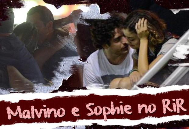 Malvino e Sophie Charlotte (Foto: Fabio Cordeiro/QUEM)
